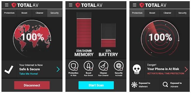 TotalAV.mobile app