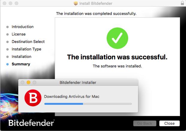 bitdefender install